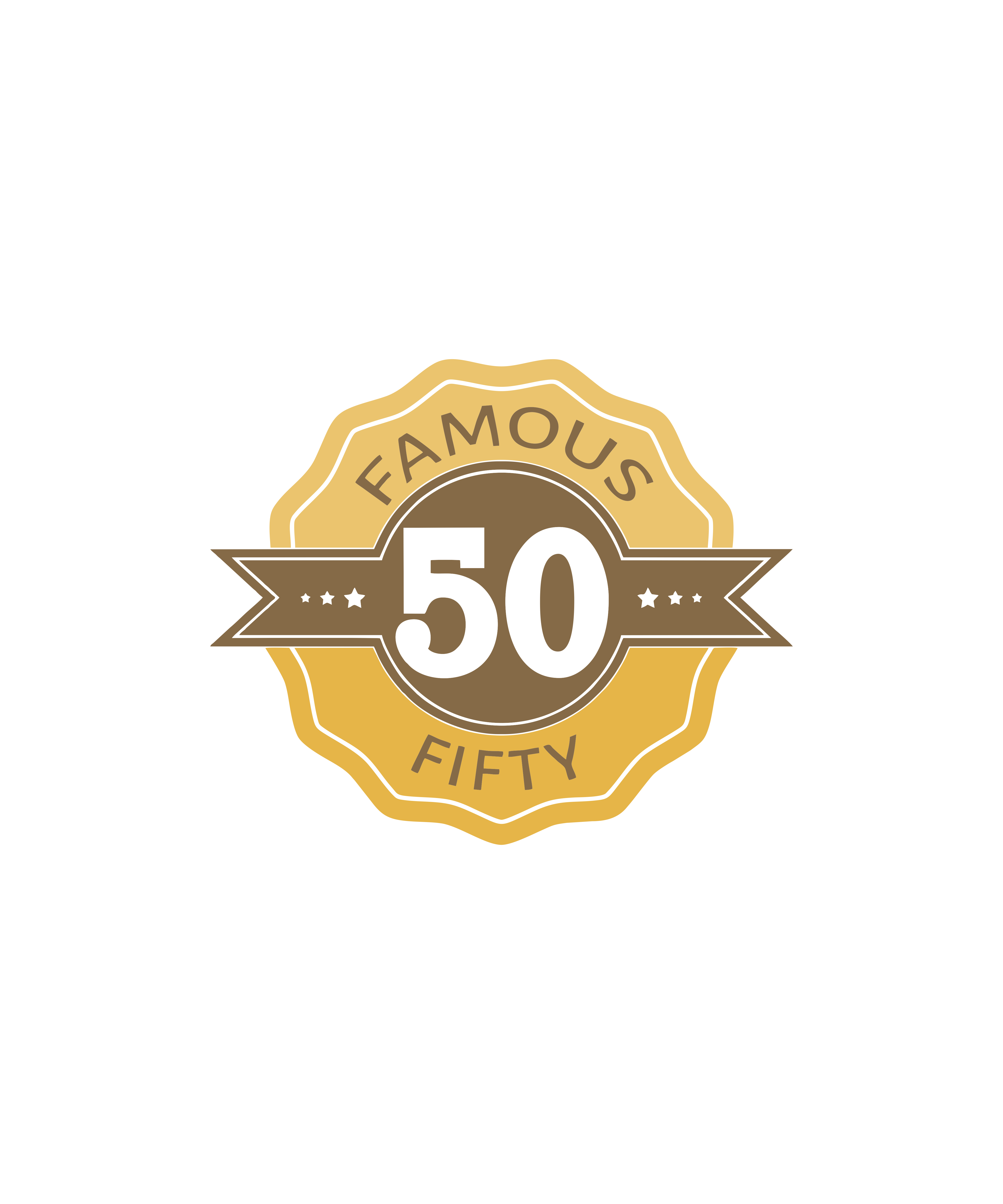 "FAMOUS 50 – "" Turnkey vanity publishing series"""